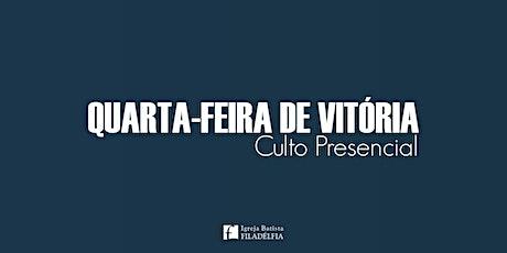 Quarta-feira de Vitória (21/10/2020) - 20h ingressos