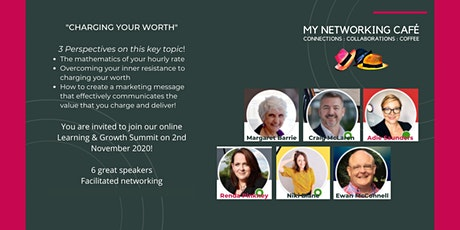 Charging your Worth - Learning & Growth Summit tickets