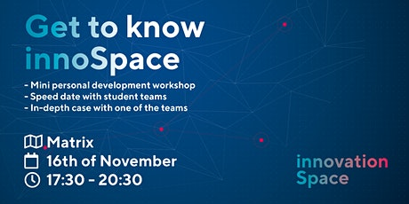 Get to know innoSpace tickets