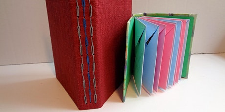 Book Making: Travelling Journal with envelopes tickets
