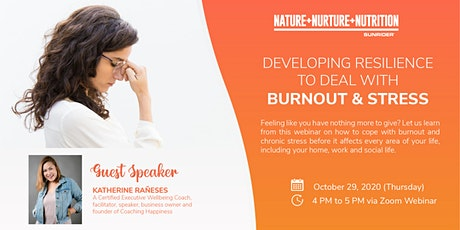 Developing Resilience to Deal with Burnout & Stress tickets