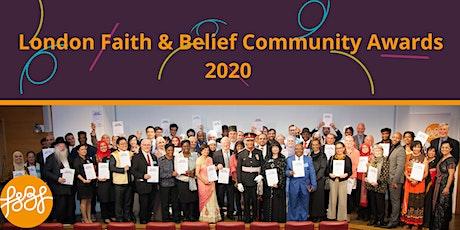 2020 London Faith & Belief Community Awards tickets