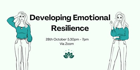 Wellness Workshop: Developing Emotional Resilience tickets