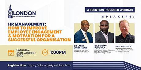 How to improve Employee Engagement & Motivation for Successful Organisation tickets