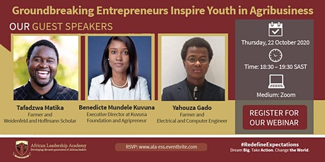 Redefine Expectations - Entrepreneurship in Agribusiness tickets