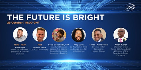 The Future is Bright - Panel event in celebration of Black History Month tickets