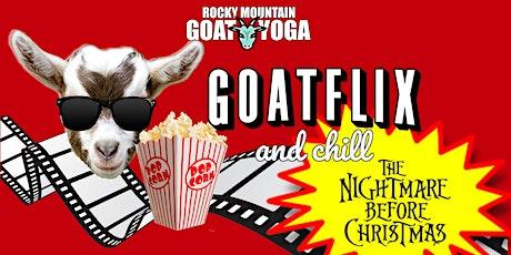 Goatflix and Chill  - November 1st (RMGY Studio) tickets