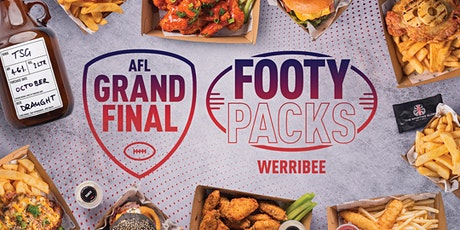 Pre-Order AFL Grand Final Footy Packs - Werribee tickets