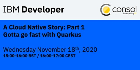 A Cloud Native Story: Part 1 - Gotta go fast with Quarkus tickets