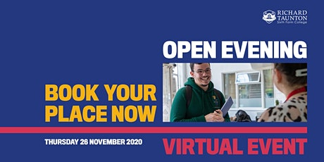 Richard Taunton Virtual  Open Event tickets