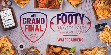 Pre-Order AFL Grand Final Footy Packs - Watergardens tickets