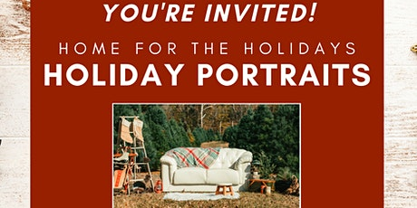 Home For The Holidays Portrait Event tickets
