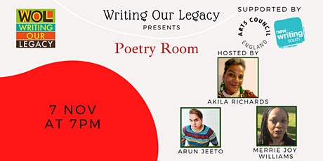 Poetry Room: Open mic, performance & poetry tickets
