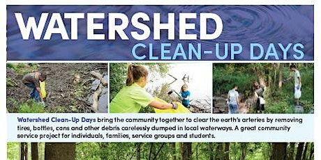 Watershed Clean-Up Lake Accotink Park - Service Hours tickets