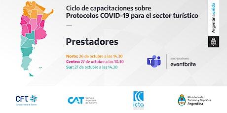 Protocolos COVID 19 - PRESTADORES - ZONA NORTE entradas