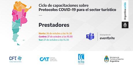 Protocolos COVID 19 - PRESTADORES - ZONA CENTRO entradas