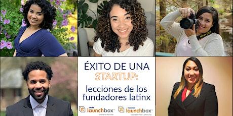 Éxito de una startup: lecciones de los fundadores latinx boletos