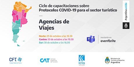 Protocolos COVID 19 - Agencias de Viajes - ZONA CENTRO entradas
