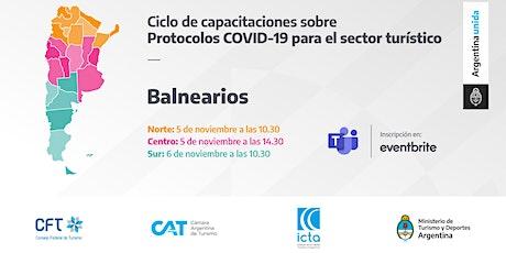 Protocolos COVID 19 - Balnearios - ZONA NORTE entradas