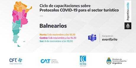 Protocolos COVID 19 - Balnearios - ZONA SUR entradas