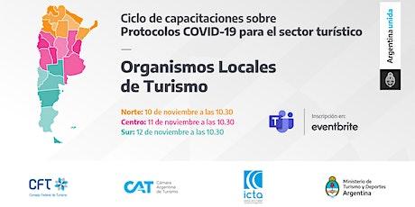 Protocolos COVID 19 - Organismo Locales de Turismo - ZONA CENTRO entradas