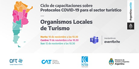 Protocolos COVID 19 - Organismo Locales de Turismo - ZONA NORTE entradas