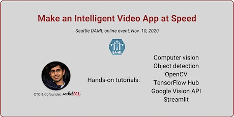 Make an Intelligent Video App at Speed tickets
