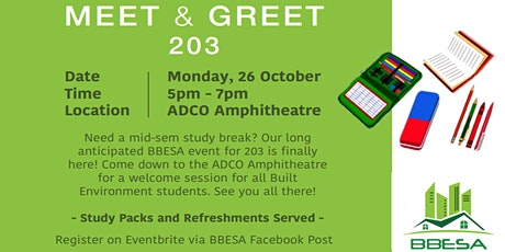 BBESA Meet and Greet  203 tickets
