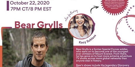 Bear Grylls & Kacy Schloss: A Mission to Inspiring Healthy Living tickets