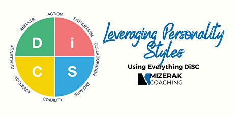 Leveraging Personality Styles - DISC tickets