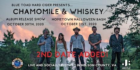 Chamomile & Whiskey - Hometown Halloween Bash tickets