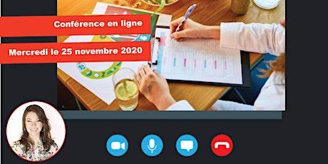 Conférence en ligne: L'influence de la nutrition billets
