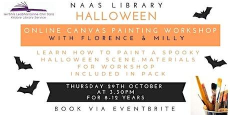 Halloween Online Canvas Workshop tickets