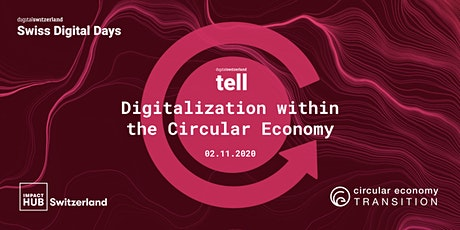 Digitalization within the Circular Economy: opportunities and challenges tickets
