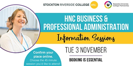 Business and Professional Administration Information Sessions tickets