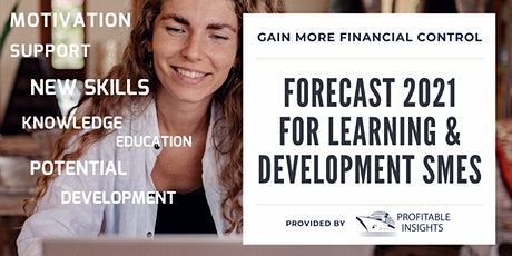 FORECAST 2021 FOR LEARNING AND DEVELOPMENT SMEs tickets