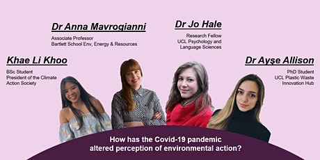 How has the Covid-19 pandemic altered perception of environmental action? tickets