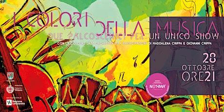 I colori della musica biglietti