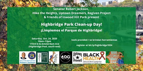 Highbridge Park clean-up / Limpiando el Parque de Highbridge boletos