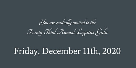 Legatus 23rd Annual Gala tickets