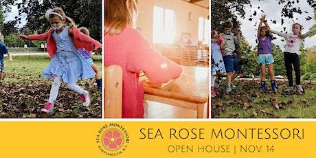 Sea Rose Montessori November  Fall Open House tickets