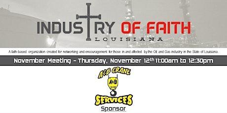 November 2020 Industry of Faith Louisiana Luncheon tickets