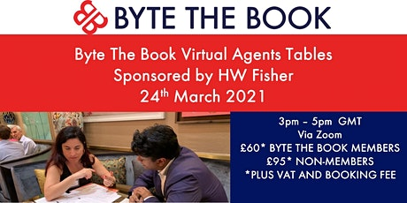 Byte The Book Virtual  Agents Tables (March 2021) Sponsored by HW Fisher tickets