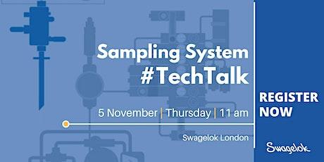 Sampling TechTalk - Swagelok London tickets