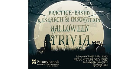 Virtual Trivia Fundraiser *Halloween Edition* for Sunnybrook PBRI Research tickets