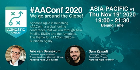 #AAConf 2020 ASIA-PACIFIC v1 tickets