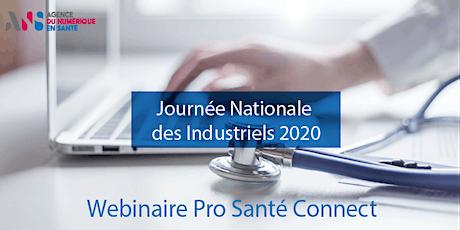 JNI - Webinaire opérationnel Pro Santé Connect billets