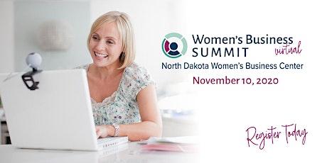 North Dakota Virtual Women's Business Summit tickets