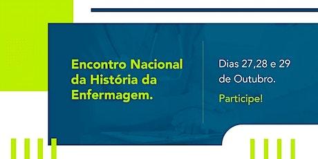 Encontro Nacional da História da Enfermagem ingressos