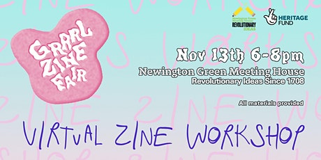 Grrrl Zine x Newington Green tickets